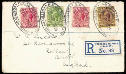 Great Britain Dundee & Arbroath Joint Railway 1891 2d Dark Green Letter Fee Stamp Mounted Mint Wide Varieties